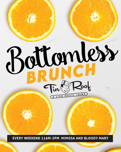 BOTTOMLESS BRUNCH Saturdays!